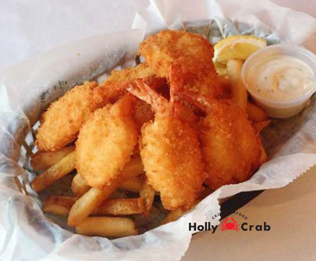 Boiling Crab Menu >> Fried Shrimp Basket – Holly Crab – Lowell